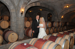 Touring the Wine Cellar at the Vineyards, Abequogue, NY